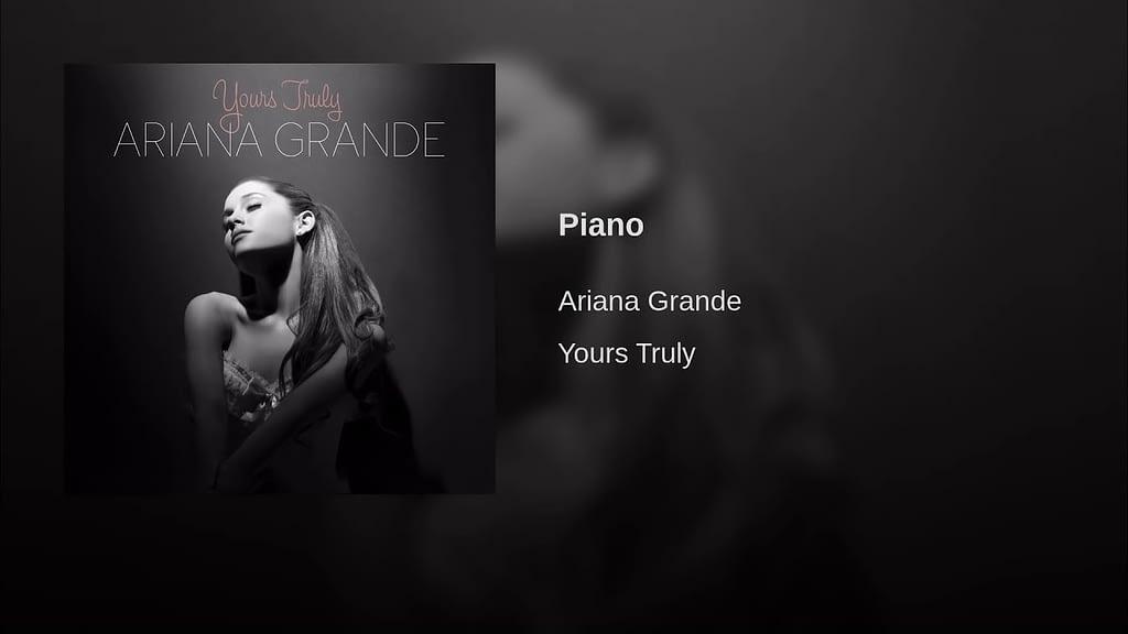 Ariana Grande Piano