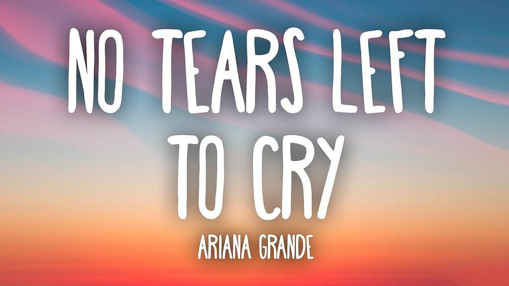 Lyrics No Tears Left to Cry